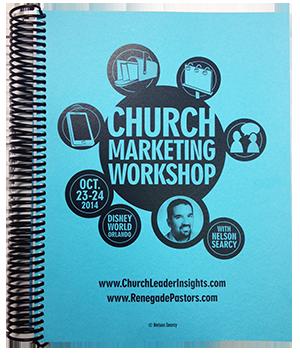 Church Marketing workbook bonus